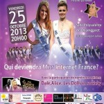 Election Miss Internet France, le 25 Octobre 2013.