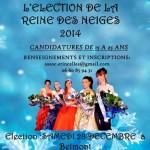 Casting pour l'élection de la Reine des Neiges 2014.