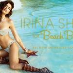 Irina Shayk, égérie pour la marque Beach Bunny, dans la collection Signature 2014.
