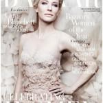 Cate Blanchett, par Ben Hassett pour Harper's Bazaar UK de Décembre 2013.