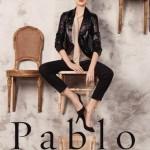 Campagne Printemps/Été 2014 de la marque Pablo, avec Larissa Hoffman.