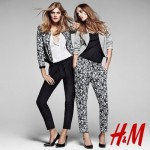 Constance Jablonski avec H&M, Lookbook Printemps 2013.
