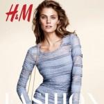 Constance Jablonski et Sigrid Agren, pour H&M en 2013, par Andrew Yee.