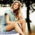 Lookbook Avril 2014 : Constance Jablonski pour Massimo Dutti.