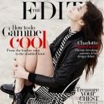 Août 2014 : Charlotte Gainsbourg par Driu Crilly & Tiago Martel pour The Edit.