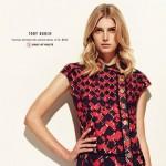 Retour en 2012 : Sigrid Agren dans le lookbook des magasins Holt Renfrew.