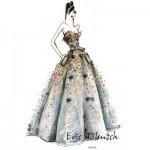 Miss France 2015 : Eric Tibusch dévoile la robe des 12 finalistes.