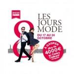 Les 8 Jours Mode du centre commercial Italie Deux, à Paris du 17 au 24 octobre 2015.