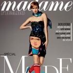 Karlie Kloss pour Madame Figaro de Février 2014.
