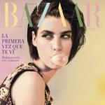 Manon Leloup pour Harper's Bazaar Espagne de Janvier 2015.