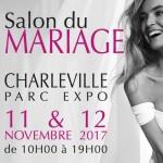 Salon du Mariage, à Charleville-Mézières, les 11 et 12 Novembre 2017.