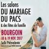 Salon du Mariage, du Pacs et des Fêtes de Famille, à Bourgoin, les 18 et 19 Novembre 2017.