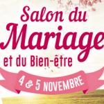 Salon du Mariage et du Bien-être, à Cholet, les 4 et 5 Novembre 2017.