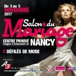 Salon du Mariage de Nancy, du 3 au 5 Novembre 2017.